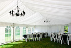 Wedding marquee Stock Images