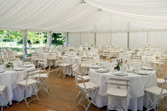 Wedding Marquee Stock Photography