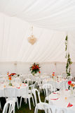 Wedding Marquee tent Royalty Free Stock Image