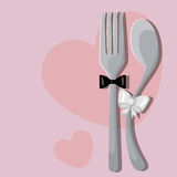 Wedding menu Royalty Free Stock Photography