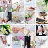 Wedding Mix Royalty Free Stock Photos