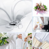 Wedding mix Royalty Free Stock Photos