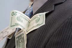 Wedding Money dance Stock Image