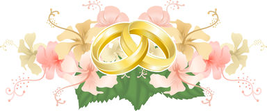 Wedding motif Royalty Free Stock Image
