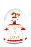 Wedding music box Stock Photo