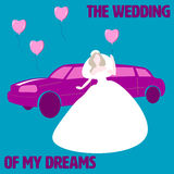 The wedding of my dreams Royalty Free Stock Photo