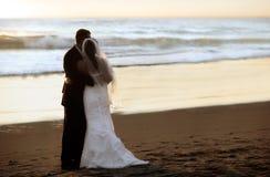 Wedding na praia foto de stock