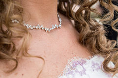 Wedding necklace Stock Photography