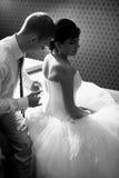 Wedding night Royalty Free Stock Photography
