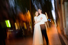 Wedding at night Royalty Free Stock Image