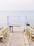 Wedding na praia. foto de stock royalty free