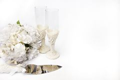 Wedding objects Stock Photos