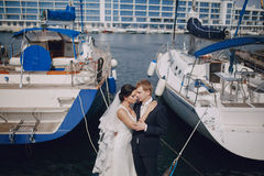Wedding in Odessa; Royalty Free Stock Image