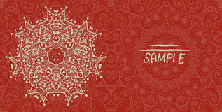 Free Wedding Or Invitation Card Design Made Of Tribal Stock Photography - 48532482
