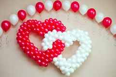 Wedding Ornament From Balloons Royalty Free Stock Images