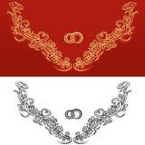 Wedding ornament Royalty Free Stock Image