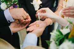 Wedding orthodox Stock Image