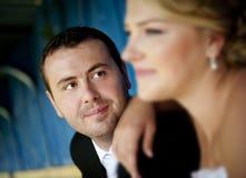 Wedding outdoor portraits Stock Photo