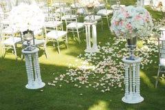 Wedding outdoors Стоковая Фотография
