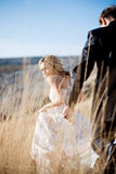 Wedding outdoors Royalty Free Stock Photo