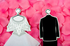 Wedding Outfits Stock Photography