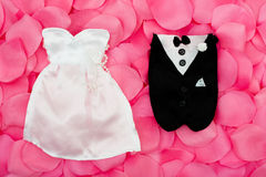 Wedding Outfits Royalty Free Stock Images