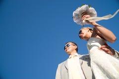Wedding pair stock image