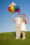 Wedding pair royalty free stock images