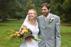 Wedding pair Stock Images