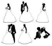 Wedding pairs Stock Image