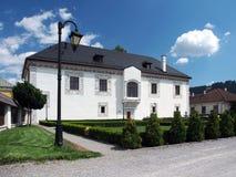 Wedding Palace in Bytca, Slovakia royalty free stock photos