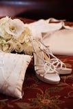 Wedding paraphernelia Stock Photo