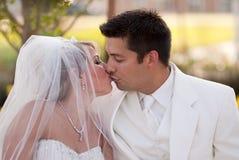 Wedding in park Stock Image