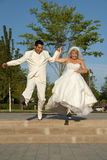 Wedding in park Royalty Free Stock Photography