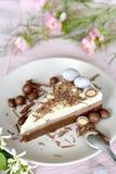 Wedding, party, birthday slice of cake stock photo