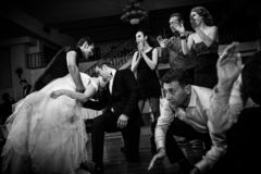 Wedding Party Dance Royalty Free Stock Photo