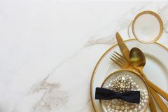 Wedding party essentials Royalty Free Stock Image