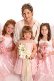 Wedding Party Girls Stock Image
