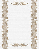 Wedding or Party invitation floral template royalty free stock images