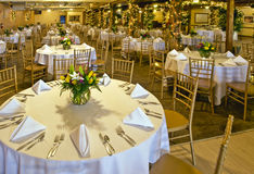 Wedding party room Royalty Free Stock Photography