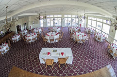 Wedding party venue Stock Photography