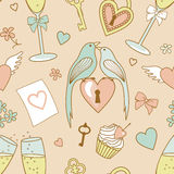 Wedding-pattern Royalty Free Stock Photography