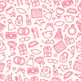 Wedding Pattern Royalty Free Stock Images