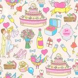 Wedding pattern Stock Image