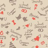 Wedding pattern Stock Images