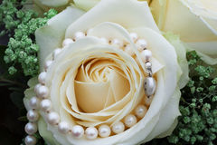 Wedding Pearls Royalty Free Stock Image
