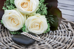 Wedding Pearls Stock Images