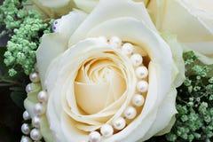 Wedding Pearls Stock Image