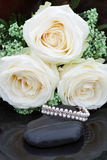 Wedding Pearls Stock Photography