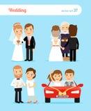 Wedding people vector Stock Photo